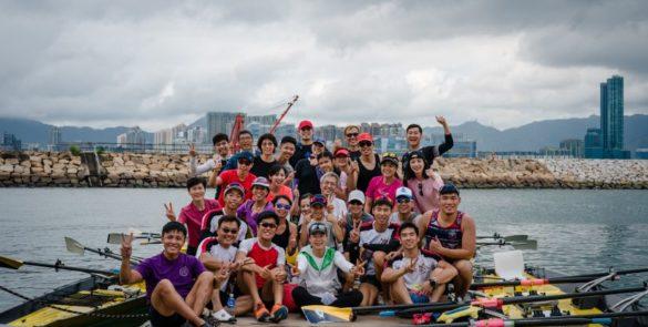 香港精英運動員協會會員聚會-海岸賽艇體驗
