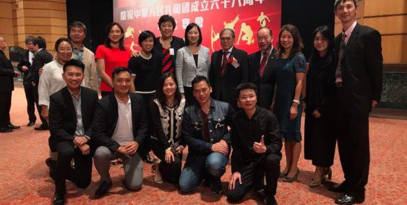 香港體育界慶祝中華人民共和國成立六十八周年晚宴